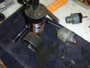 Coil and Oil Pressure Sender