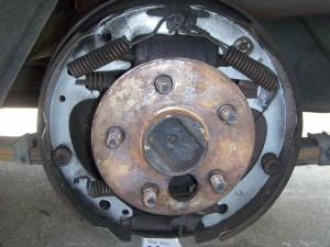 Left Rear Brake