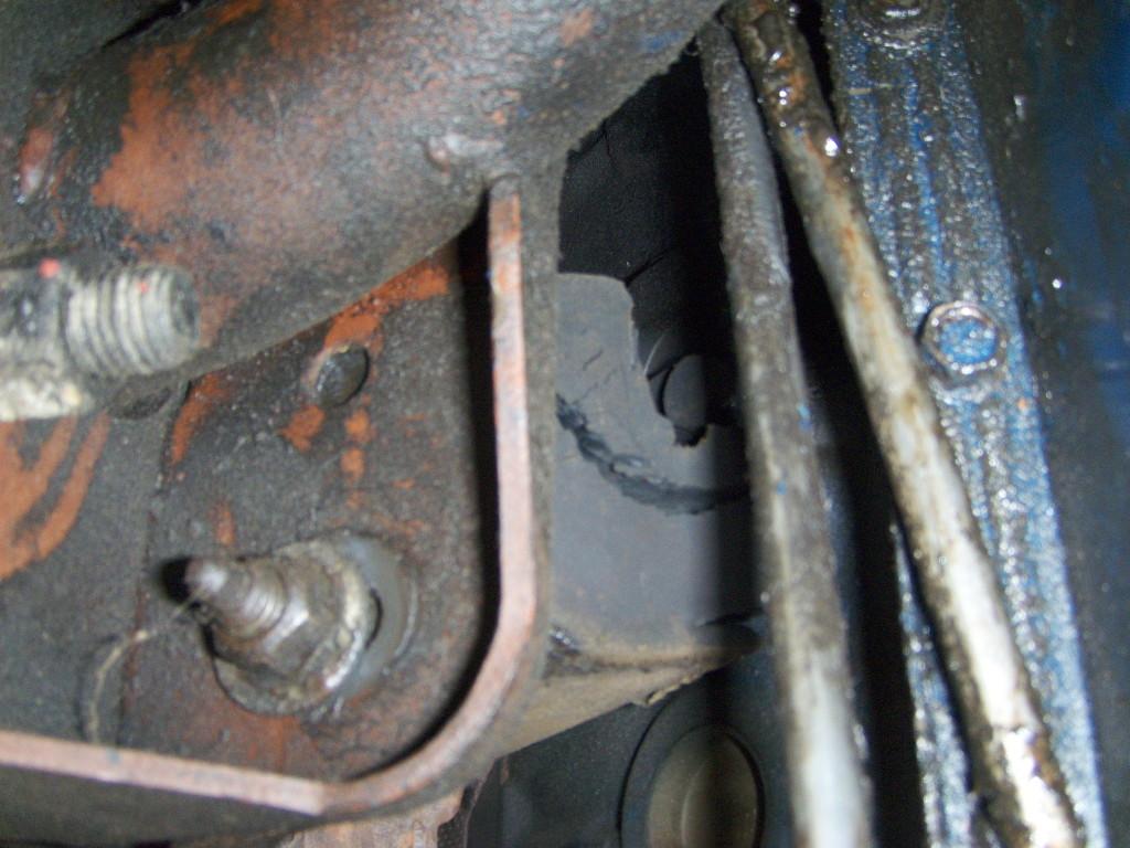 Broken Motor Mount