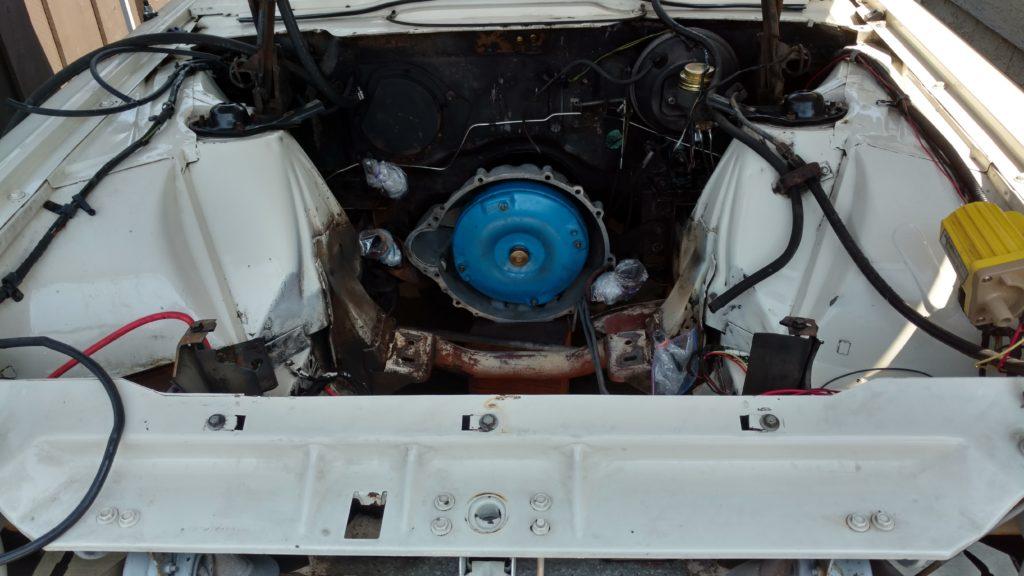 Clean(er) engine bay.
