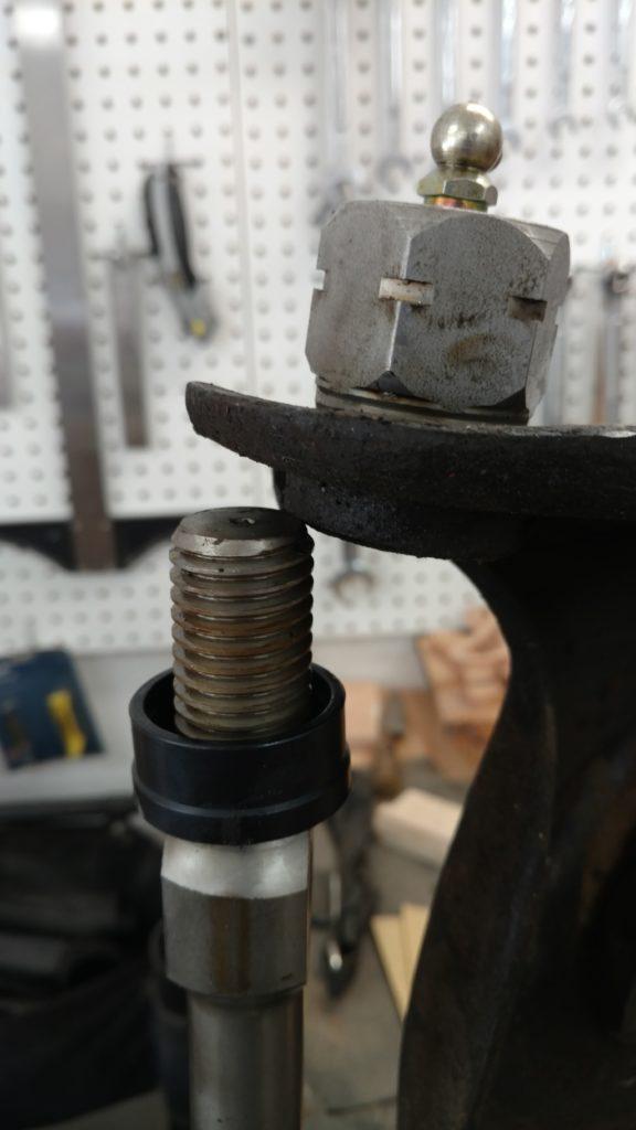 upper control arm shaft
